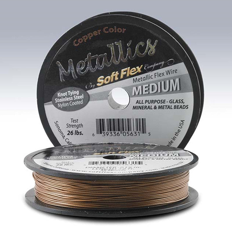 Supplies-Beading Wire-Fine-Soft Flex-.019 Copper