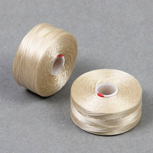 Supplies-C-Lon Thread-Size D-78 Yard Bobbin-Beige
