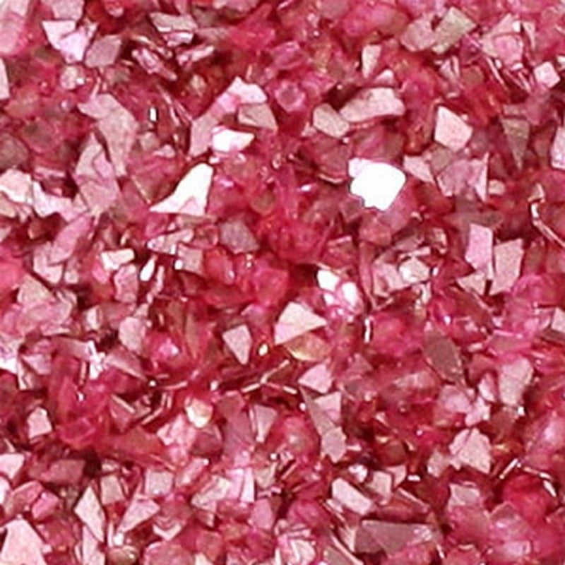 Supplies-Vintage Glass Shards Glitter-Pink Coral-7 Grams