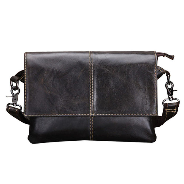 Cow genuine leather messenger bags for men handbags - The 24/7 Store
