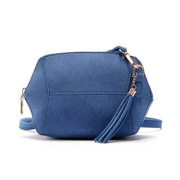Womens Suede Shoulder Satchel Handbag - The 24/7 Store