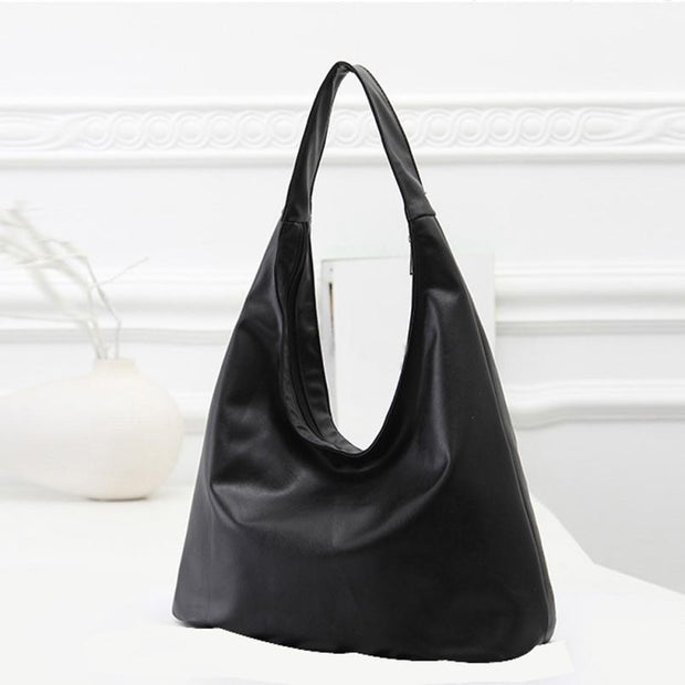 Fashion Women Shoulder Bag Black Satchel - The 24/7 Store