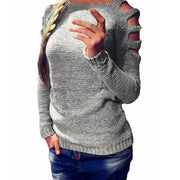 Loose Casual Pullover Sweaters - The 24/7 Store