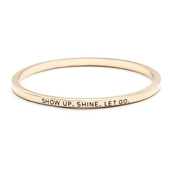 Show Up Shine Bangle - The 24/7 Store