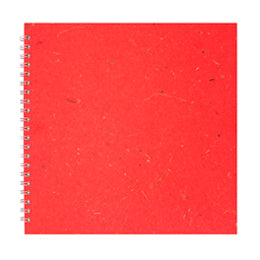Ruby 11x11 Sketchbook with 150gsm White Cartridge Paper