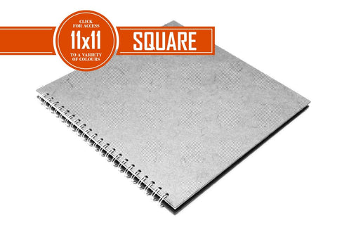11x11 Posh Cappuccino Brown 150gsm Cartridge Paper 35 Leaves