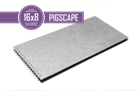 16x8 Posh White 150gsm Cartridge Paper 35 Leaves Landscape
