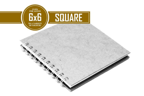 6x6 Classic Fat Off White 150gsm Cartridge Paper 70 Leaves