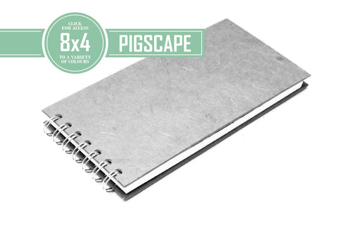 8x4 Posh White 150gsm Cartridge Paper 35 Leaves Landscape (Pack of 5)
