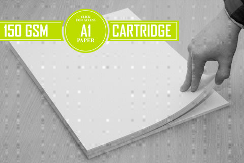 A1 150gsm Cartridge Paper (Pack of 100 Sheets)