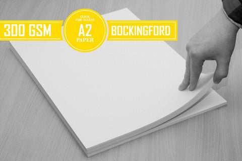 A2 Bockingford Watercolour Paper 300gsm (Pack of 10 Sheets)