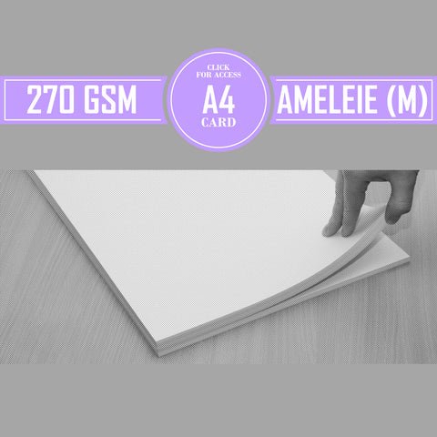 A4 270gsm Matte Ameleie Watercolour Paper (Pack of 20 Sheets)