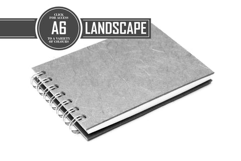 A6 Posh White 150gsm Cartridge Paper 35 Leaves Landscape (Pack of 5)