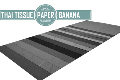 Banana Thai Tissue Paper 40gsm 50x70cm (Pack of 5 Sheets)