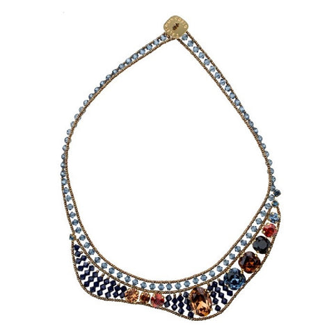 Blue Metamorphosis Necklace - Bankelok - 1