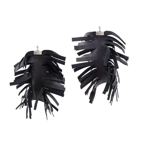 Black Wings Earrings - Bankelok - 1