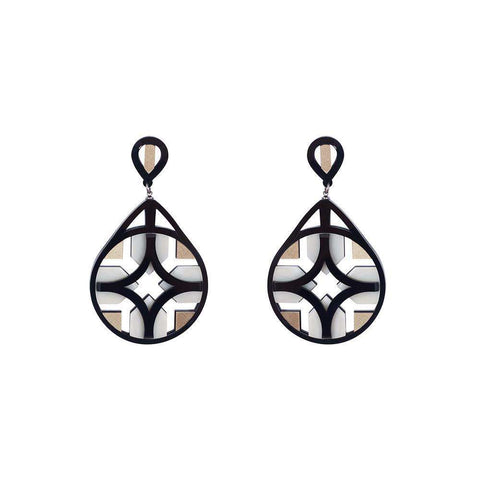 Deco Tile Earrings