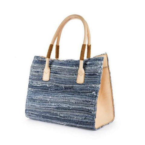 Beli Denim Tote Bag, Handbags & Clutches, Bankelok