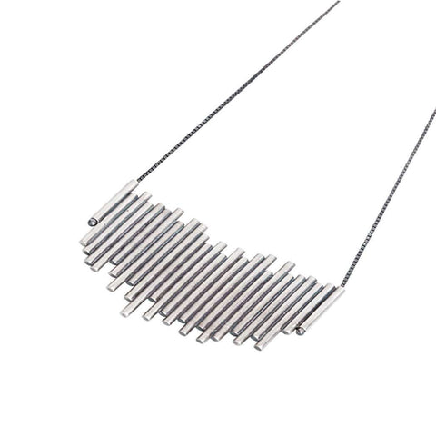 Lightning Silver Necklace - Bankelok - 1