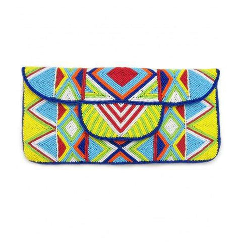Mzuri Clutch Bag - Colorful Summer