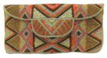Mzuri Clutch Bag - Flames