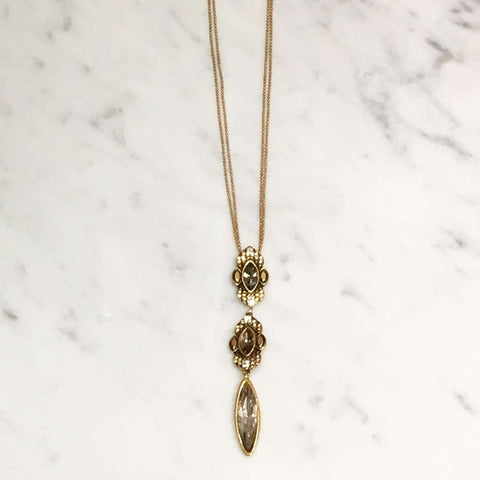 Ravel Gold Double Necklace