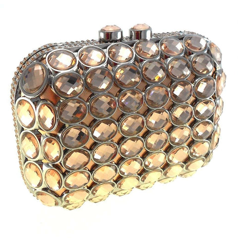 Rose Crystals Clutch, Clutches, Bankelok