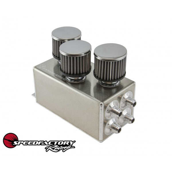 SpeedFactory Racing 3-Filter Oil Catch Can