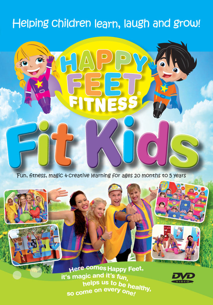 Happy Feet Fitness Fit Kids DVD