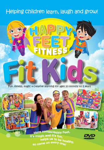 "Happy Feet Fitness ""FIT KIDS"" Digital Download"