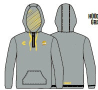 CHARLY DORADOS HOODIE-GRAY 2019-2020