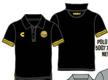 CHARLY DORADOS POLO-BLACK 2019-2020