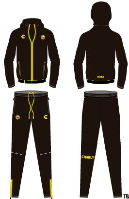 CHARLY DORADOS TRACK SUIT 2019-2020