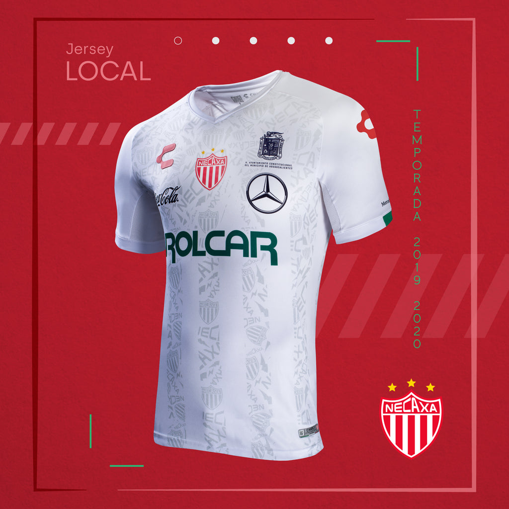 CHARLY NECAXA HOME JERSEY 2019-20