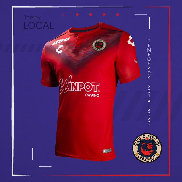 CHARLY VERACRUZ HOME JERSEY 2019-20