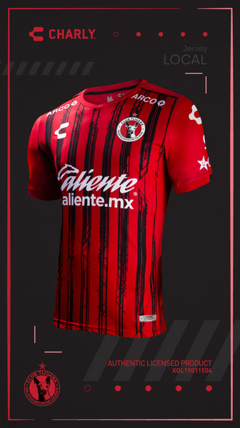 CHARLY XOLOS HOME JERSEY 2019-20