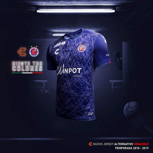 CHARLY VERACRUZ THIRD JERSEY 2018-19