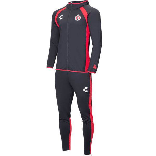 CHARLY XOLOS TRACK SUIT BLACK