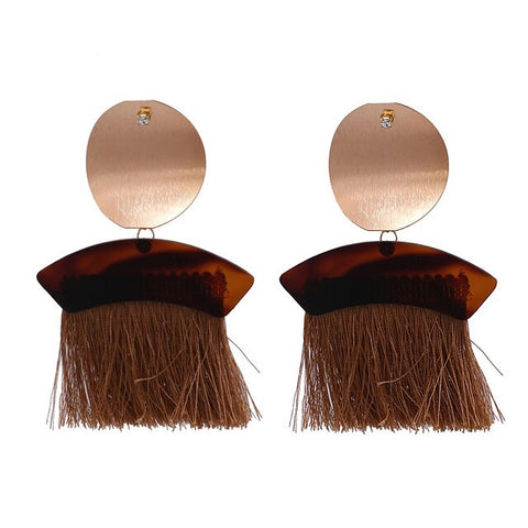 'Sweep' Tassel Earrings