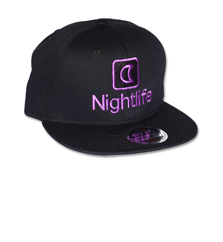 The Nightlife Snapback (Black)
