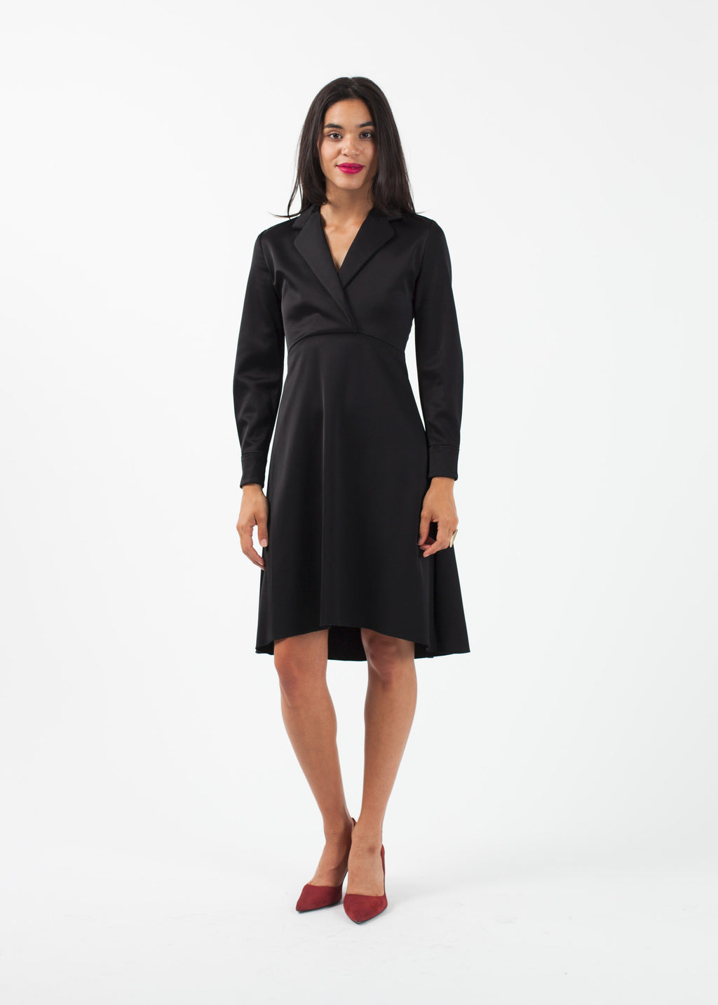 Surplice Dress
