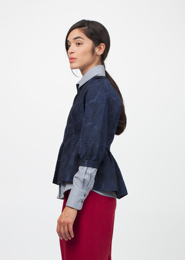 Cropped Peplum Jacket