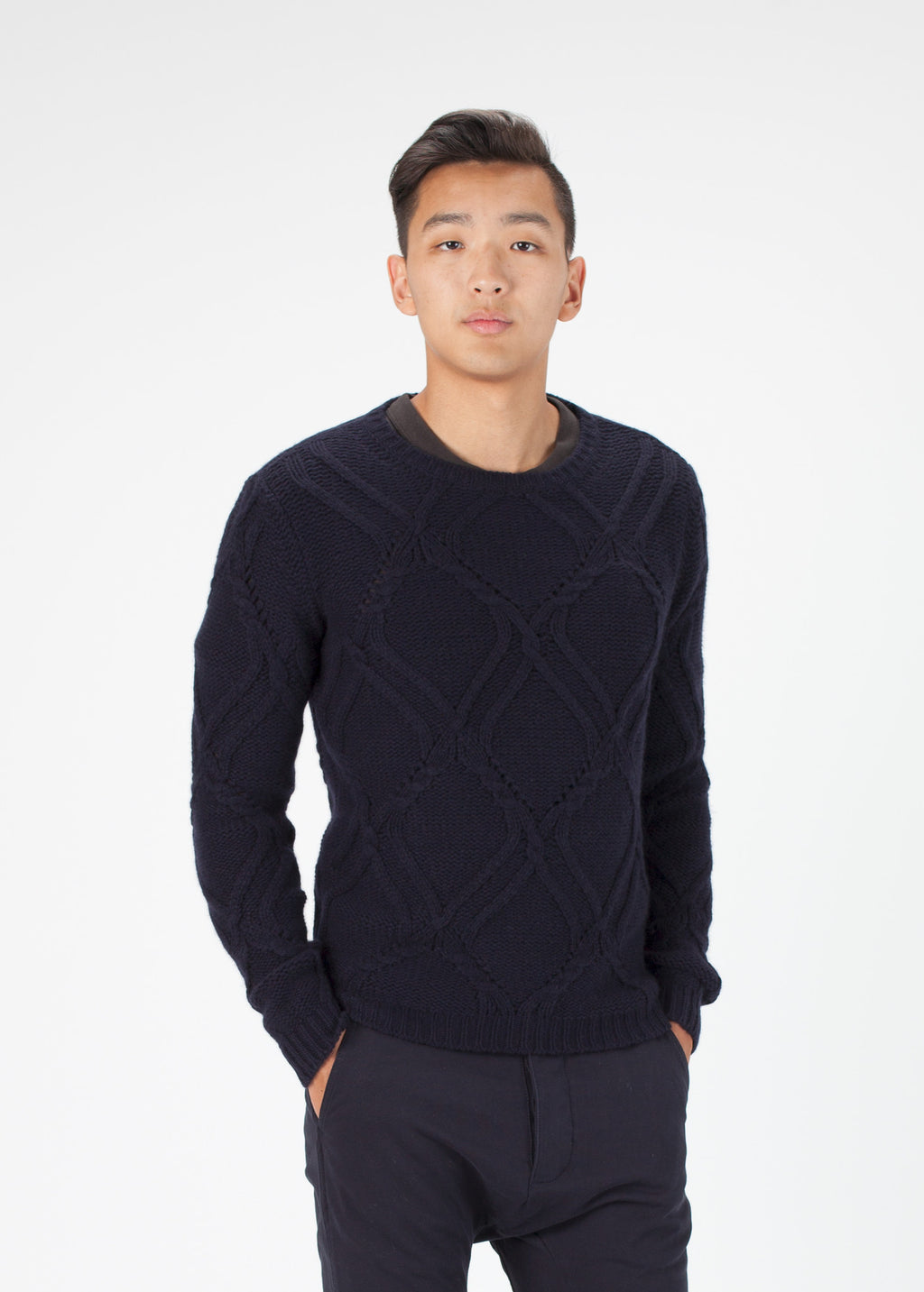 Pattern Knit Pullover