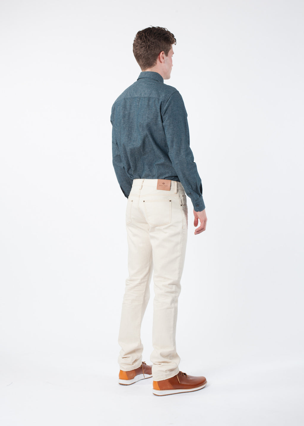 Slim Six Natural Denim