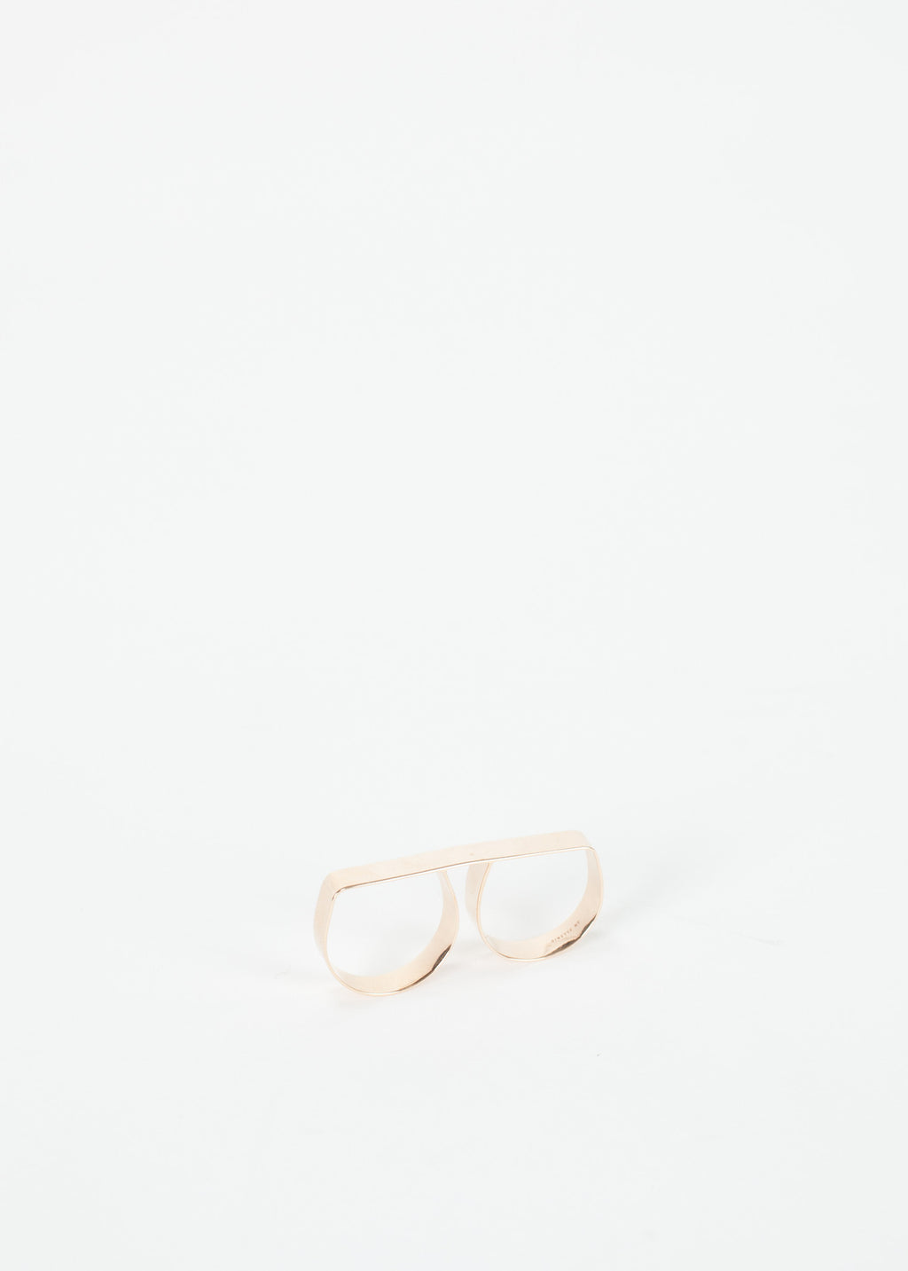 Ginette NY Baguette Double Ring