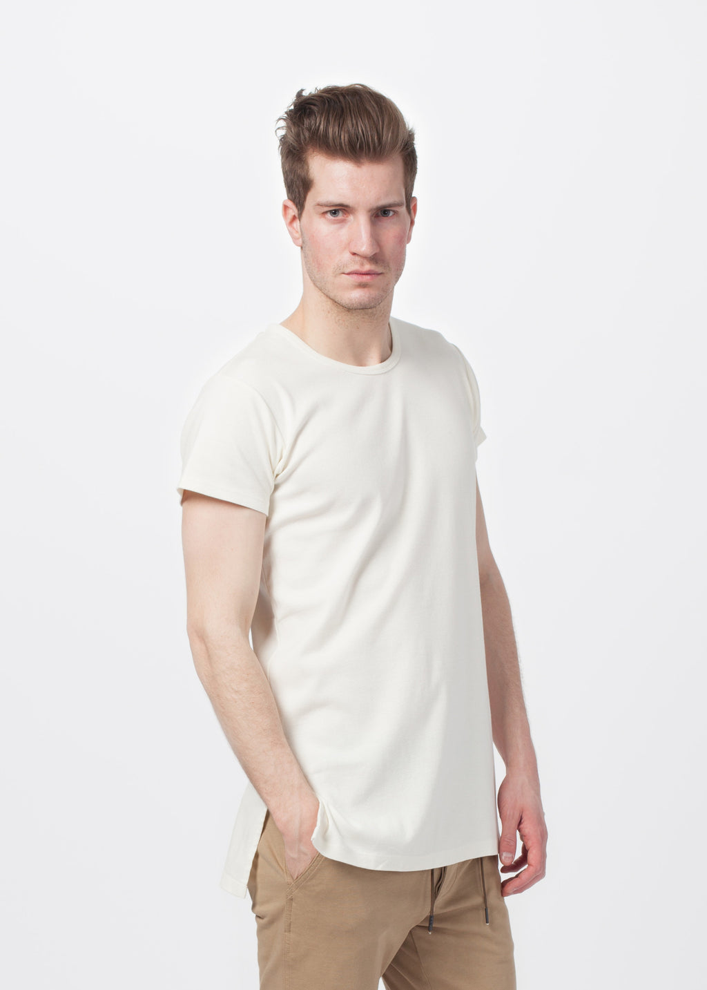 NLST Men's Side Slit Tee