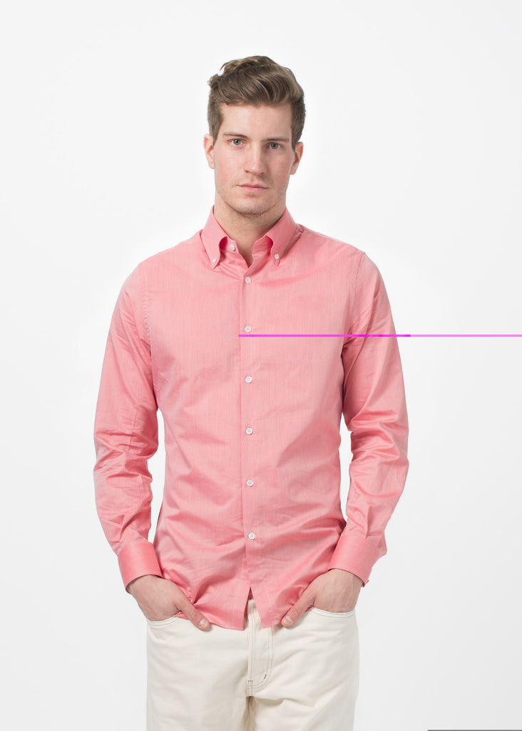 Micro Check Button Down
