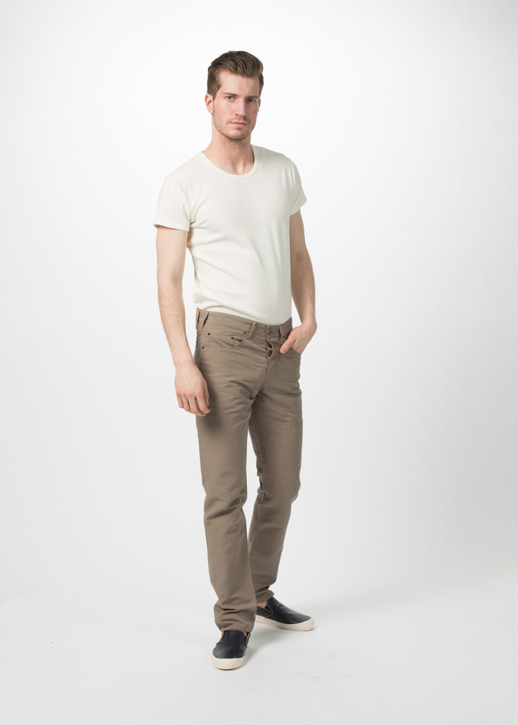 Five Pocket Linen Trouser