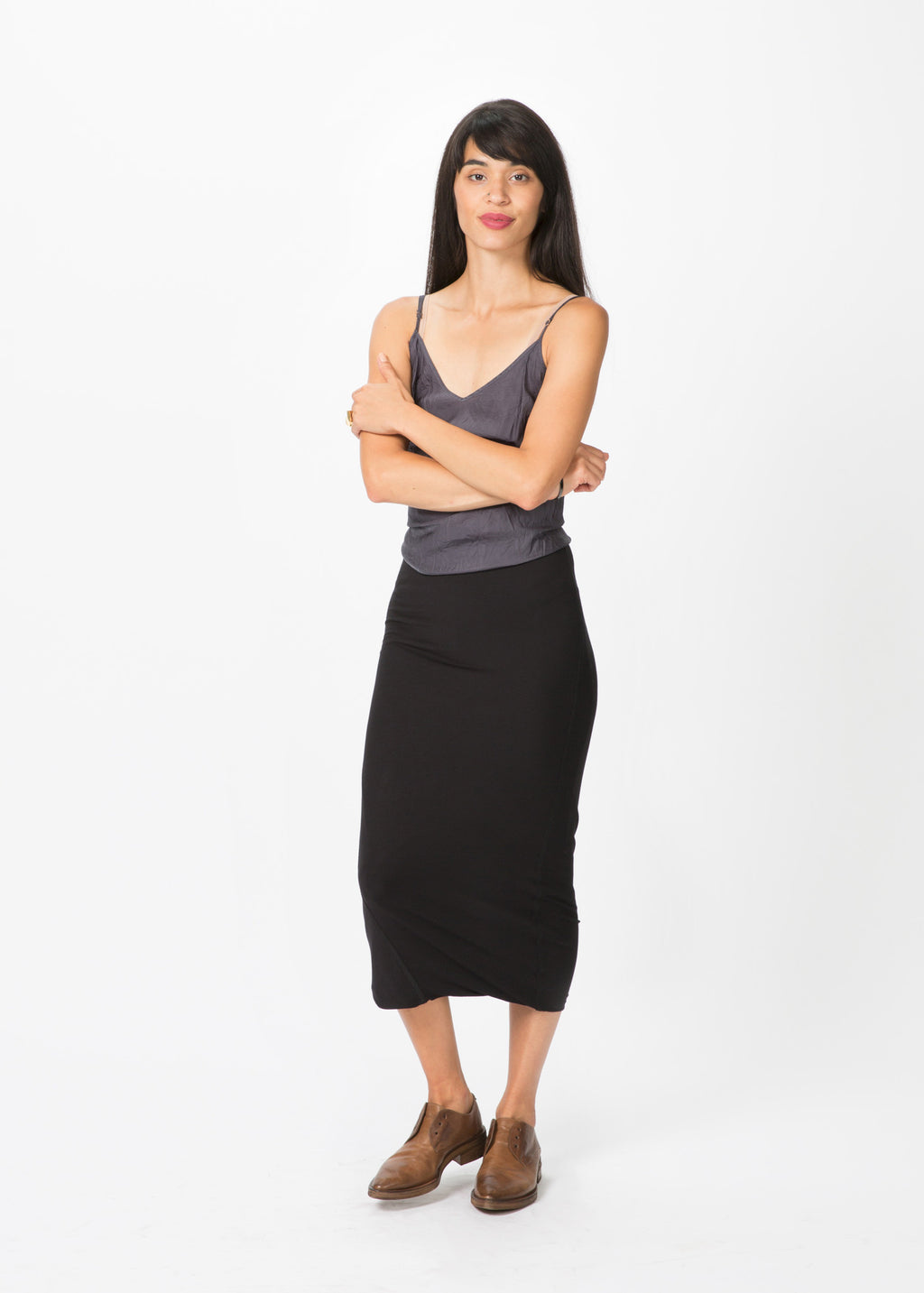 Long Viscose Skirt