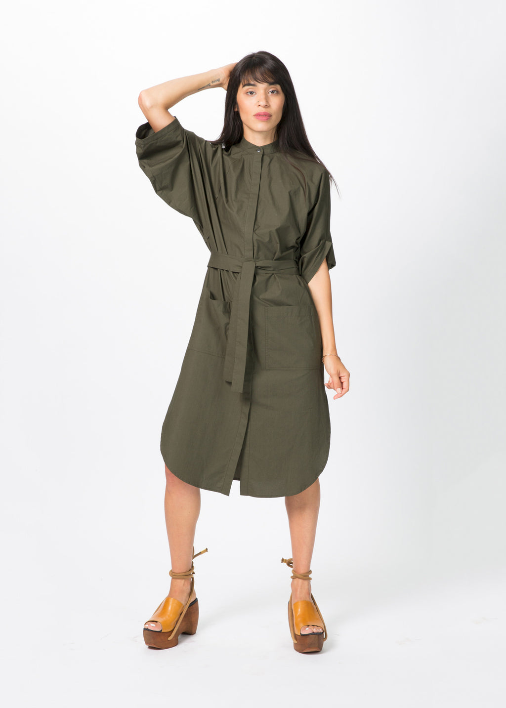 Eclipse Artisan Shirt Dress